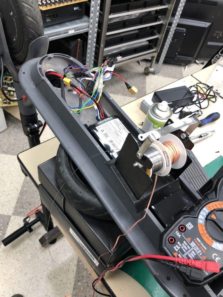 riparazione monopattini elettrici
